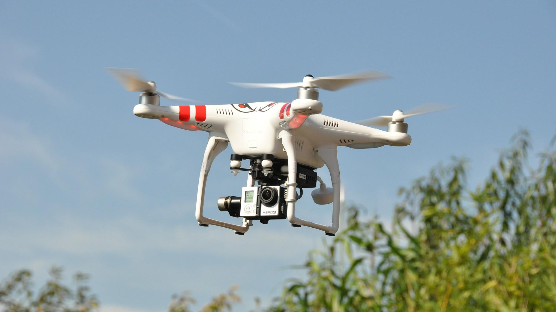 Légi videó készítés